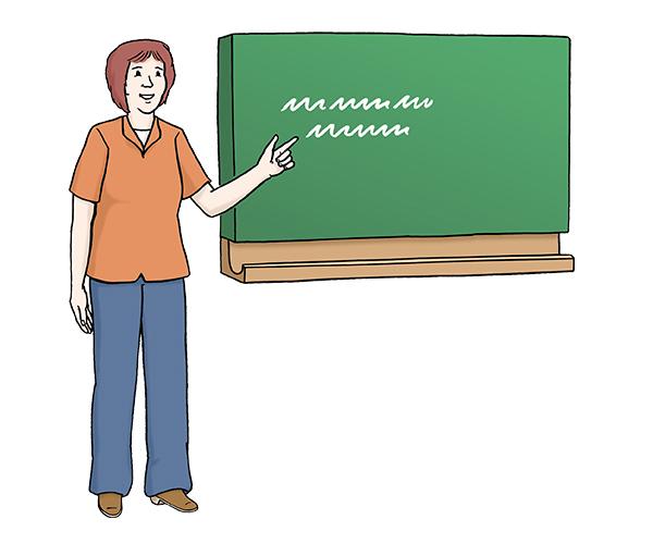 Berufsbildungsbereich Lehrerin