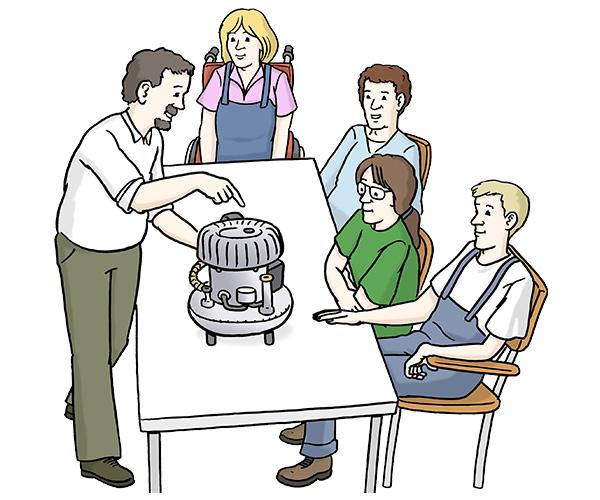 Berufsbildungsbereich bei der Lebenshilfe im Kreis Rottweil gGmbH