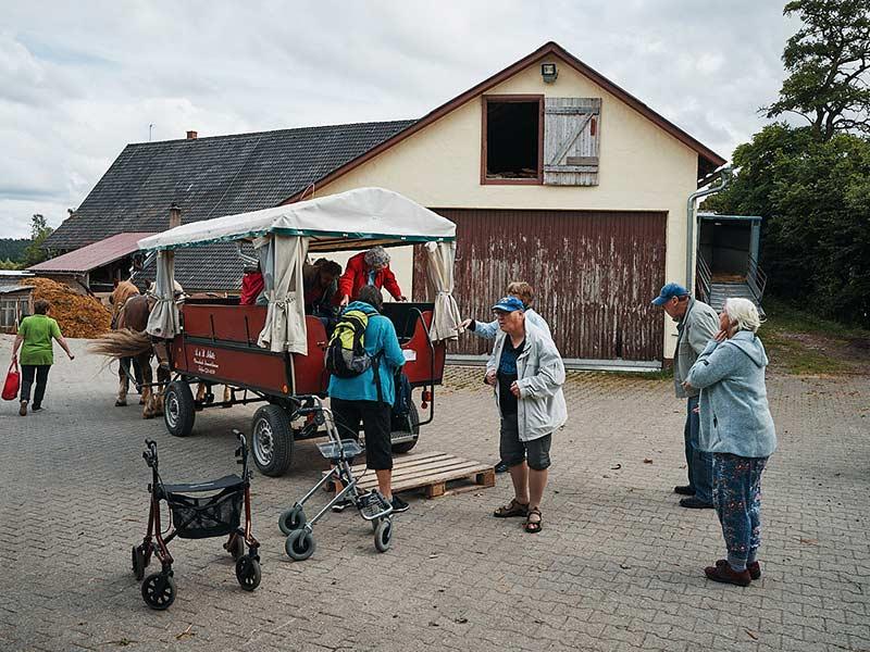 Lebenshilfe im Kreis Rottweil gGmbH - Freizeitangebot - Ausflug Kutschfahrt