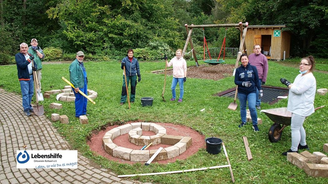 Lebenshilfe Rottweil Haus Hochmauren Gartenschnecke