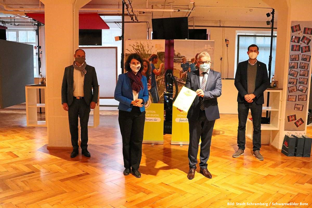 Lebenshilfe Auszeichnung Schramberg Zum Frieder Waldmoessingen