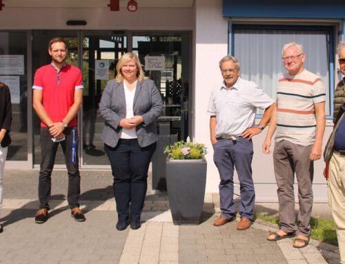 Maria-Lena Weiss zu Besuch bei der Lebenshilfe in Waldmössingen